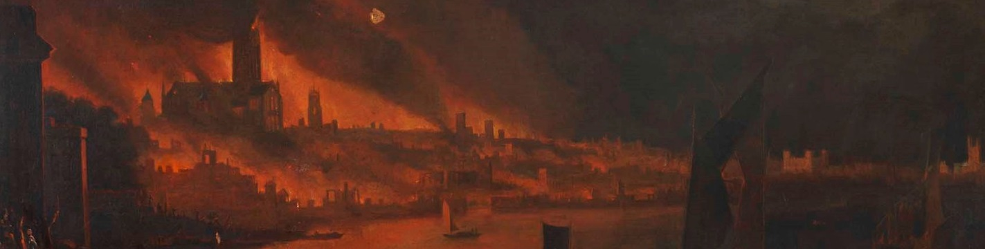 witnessing the great fire of london