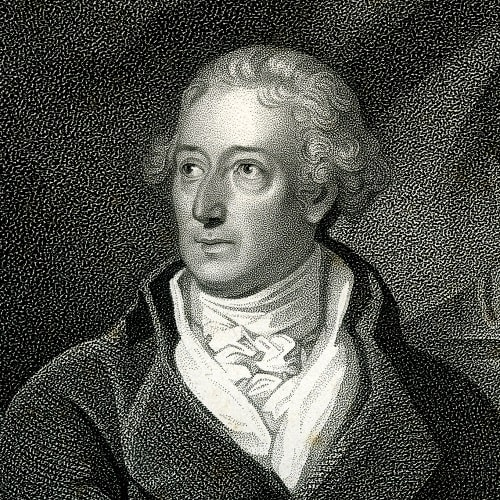 Portrait of Benjamin Moseley engraved by M. A