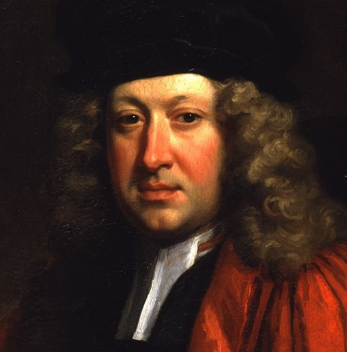 Portrait of Richard Hale (1670-1728) painted by Jonathan Richardson