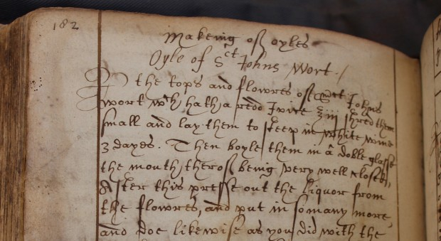 Collection of medical receipts. Sarah Wigges and others, 1616 and later.