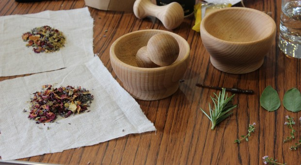 Plague and potions: making a pomander