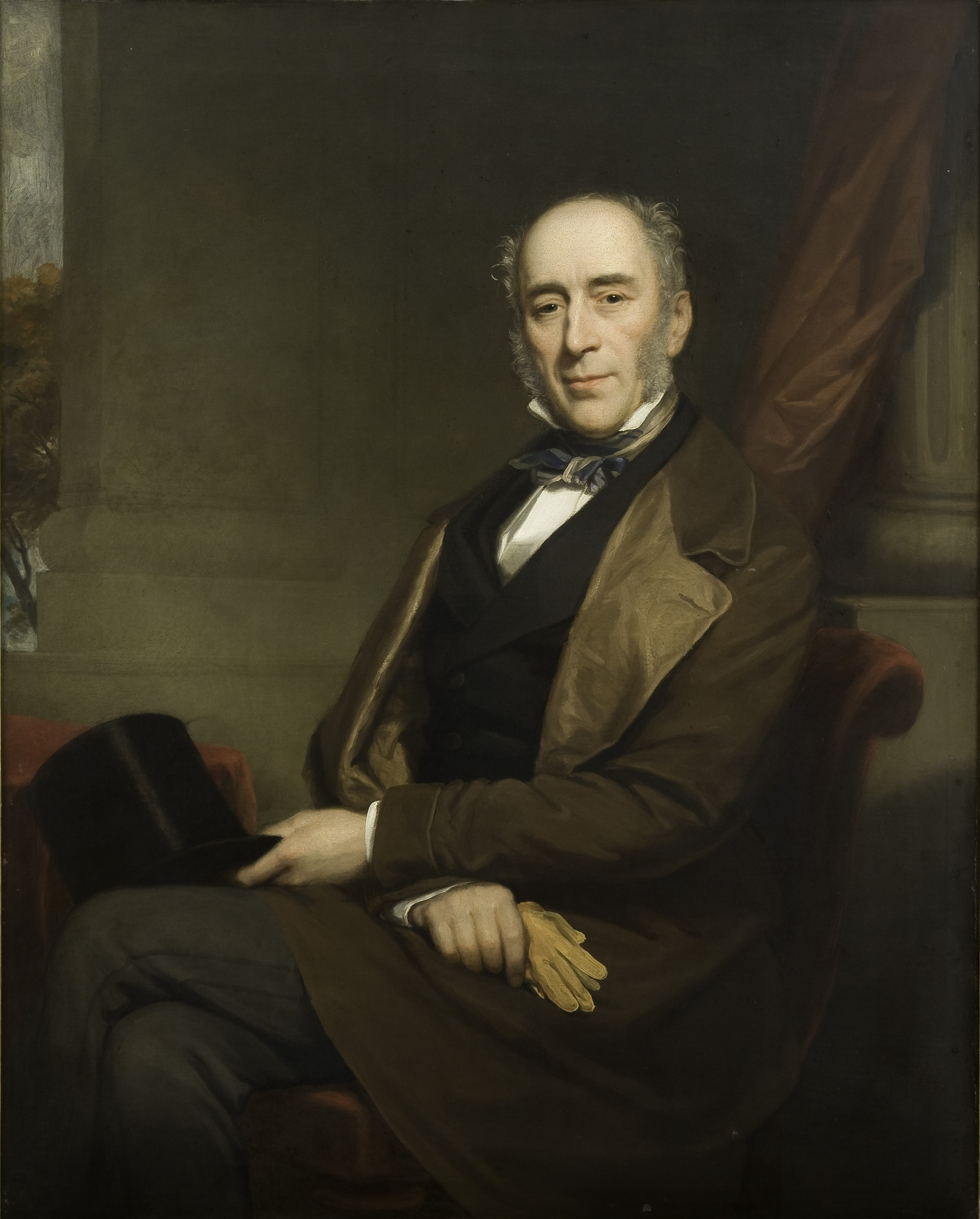 Portrait of Sir James Clark.