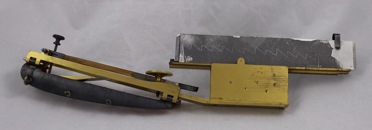 A sphygmograph from c.1870, owned by Sir William Broadbent