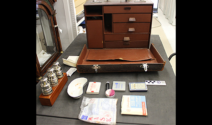 A medical chest and its contents