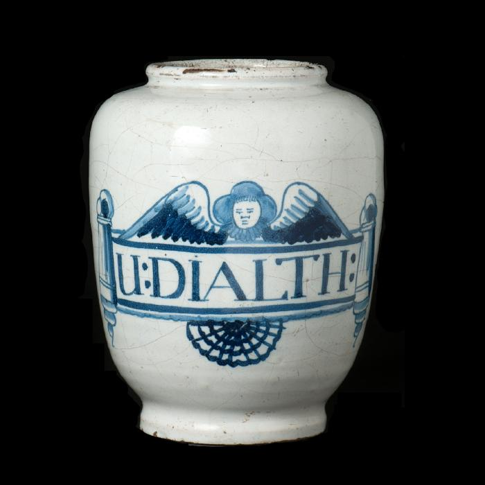 'U DIALTH' Hoffbrand jar