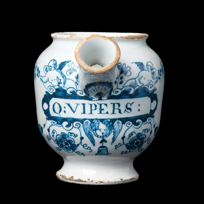 'O VIPERS' Hoffbrand jar