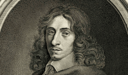 Portrait of John Evelyn (1620-1706), engraved by F. Bartolozzii after R. Nanteuil