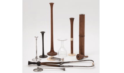Stethoscopes from the Symons Collection