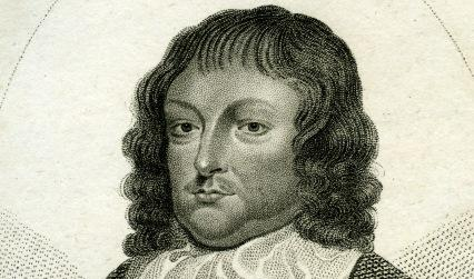 Engraved portrait of a man