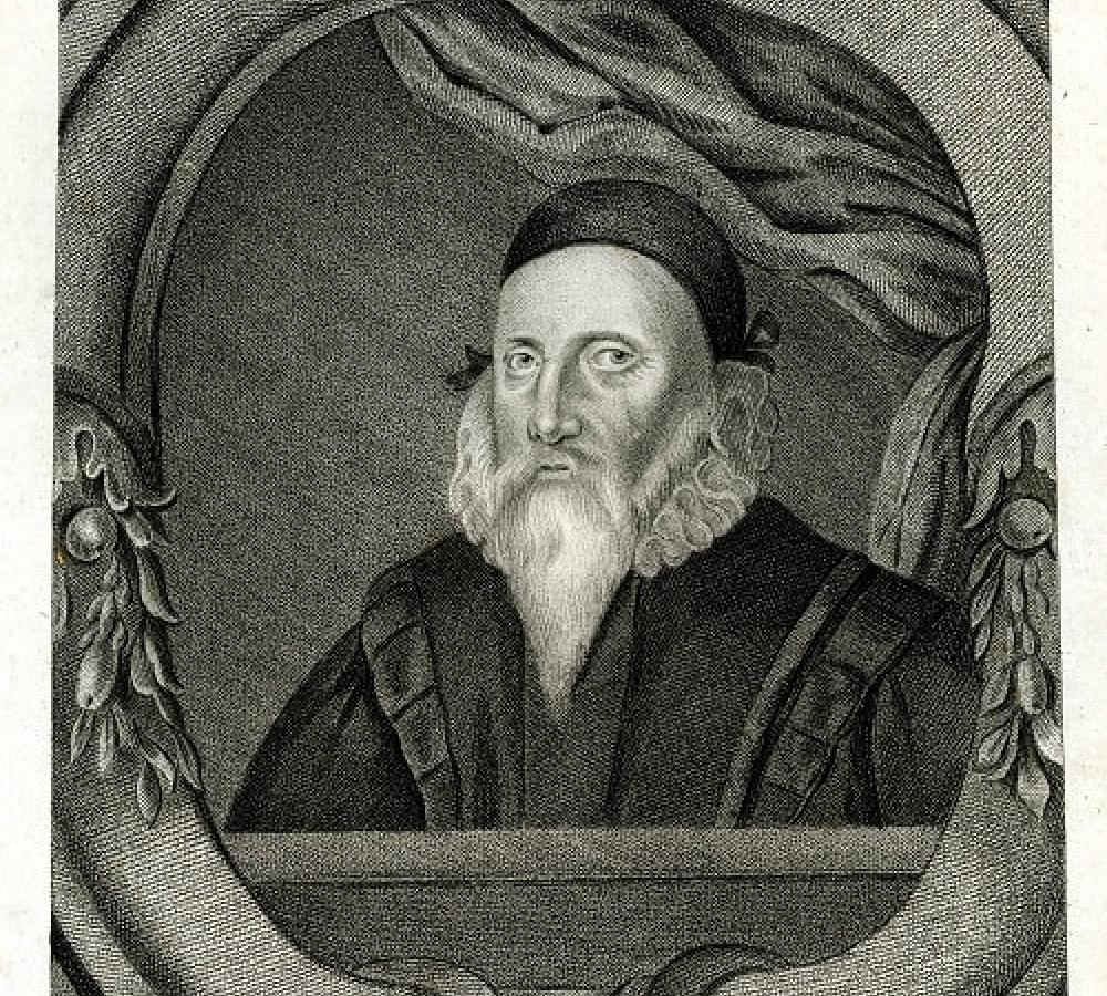 Engraving of John Dee
