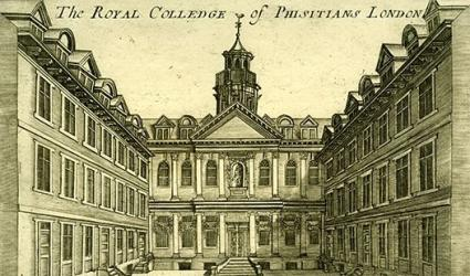 College premises in Warwick Lane, 18th century
